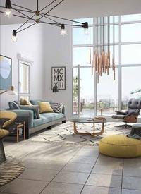 innlove : Programme immobilier neuf Bordeaux - Salon moderne